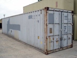 container 40' pieds type B