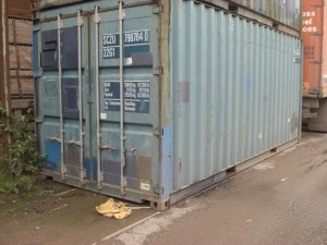 xx 3 container 20' pieds B