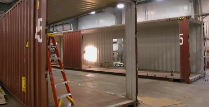 Container amenage habitation acheter un container - Maison modulaire container ...