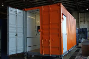 container sotck buerau 20 ft